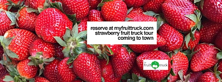 Strawberry Fruit Truck tour Rapid City