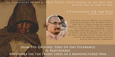 Resistance on the Front Lines of a Manufactured War: El Paso/ Juarez tickets