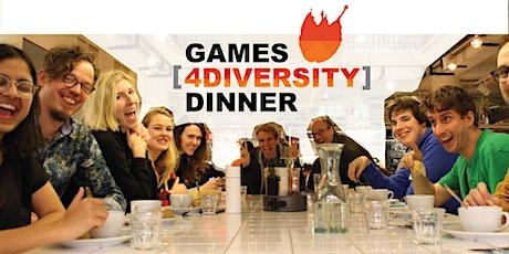Games [4Diversity] Dinner During GDC 2020 tickets