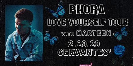 Phora - Love Yourself Tour w/ Marteen tickets