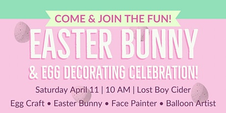 Easter Bunny and Egg Decorating Celebration tickets