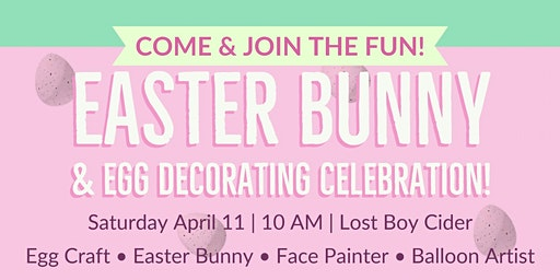 Easter Bunny and Egg Decorating Celebration