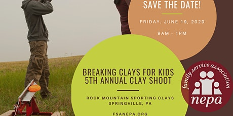 Breaking Clays for Kids 5th Annual Clay Shoot tickets