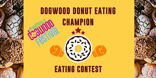 Dogwood Donut Eating Champion