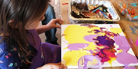 Kids Acrylic Pouring tickets
