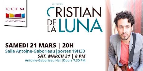 Cristian De La Luna tickets