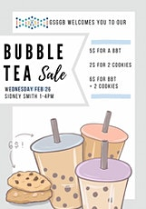 GSGGB Bubble Tea Sale! tickets