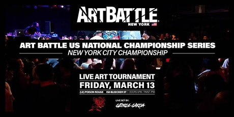 Art Battle NYC City Championship! tickets