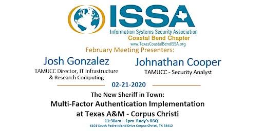 ISSA Texas Coastal Bend: February Meeting