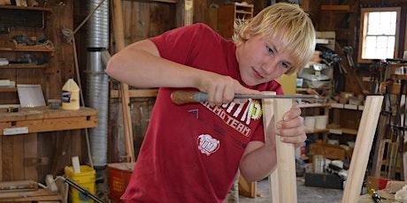Boatshop Workshop: Fireside Stool Class tickets