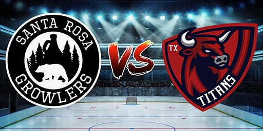 Santa Rosa Growlers vs  Texas Titans