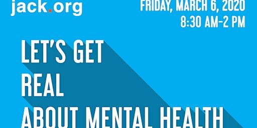 UWindsor Jack.org Let's Get Real About Mental Health Regional Summit