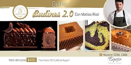 Demo con MATIAS RISE: Budines 2.0 entradas