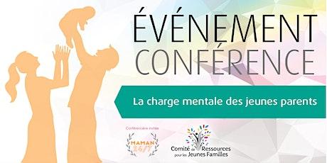 Conférence - La charge mentale des parents avec Maman 24/7! billets