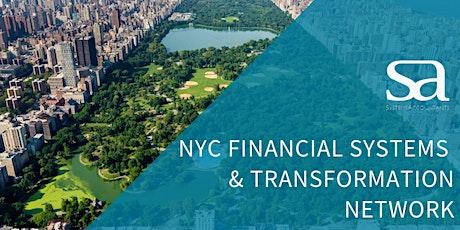 NYC Financial Systems & Transformation Network (FSTN) tickets