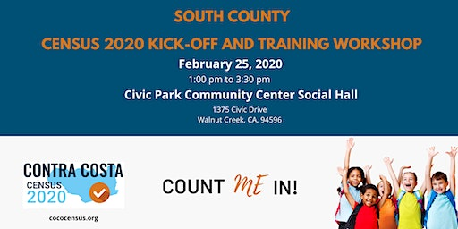 CoCo Census South 2020 Kick-Off and Training Workshop