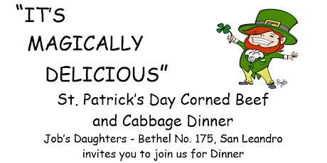 Bethel 175's Annual St. Patrick's Day Dinner Fundraiser tickets
