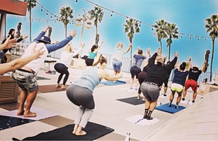 Free Rooftop Yoga, and $1 Mimosas!
