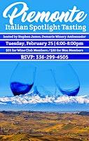 Piemonte: An Italian Wine Tasting