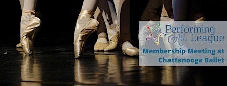 PAL Membership Meeting at Chattanooga Ballet