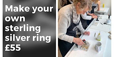 Silversmith Ring Making workshop tickets