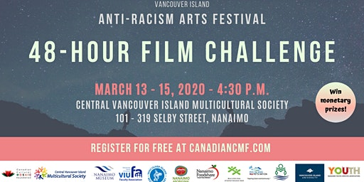 48 hour film challenge - Anti-Racism Arts Festival