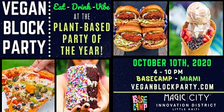 VEGAN BLOCK PARTY tickets