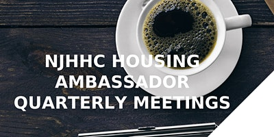 NJHHC Housing Ambassador Quarterly Meeting 3/9/2020