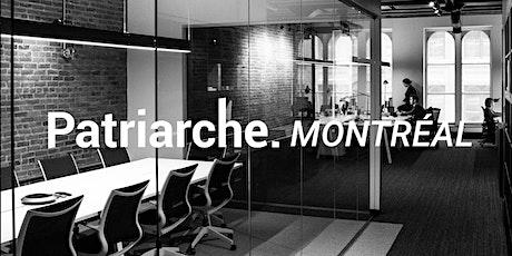 Inauguration Patriarche Montréal tickets