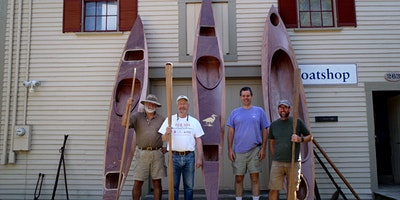 Boatshop Workshop: Glued Lapstrake Kayak Building