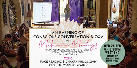 Face Reading & Chakra Philosophy for the Modern World tickets