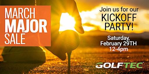 GOLFTEC Irvine March Sale Kickoff Event