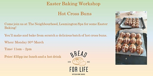 Easter Baking workshop with Hot Cross Buns