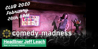 DISCOUNT TICKETS TO PALM SPRINGS COMEDY CLUB HEADLINER JEFF LEACH