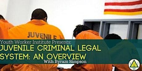 Juvenile Criminal Legal System: An Overview tickets