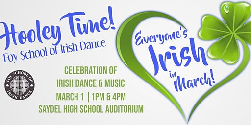 Foy Irish Dance Hooley  -- 1PM SHOW