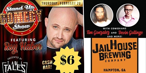 Tall Tales at Jailhouse Brewery  ft: Roy Haber