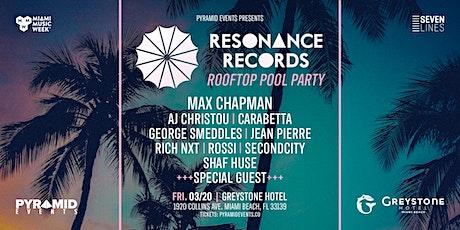 Resonance Records (Max Chapman) | Miami Music Week 2020 - Free W/ RSVP tickets