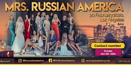 Mrs. Russian America Pageant tickets