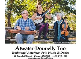Atwater Donnelly Trio on Saturday, March 14