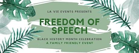 Freedom of Speech: Black History Celebration tickets