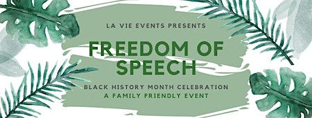 Freedom of Speech: Black History Celebration
