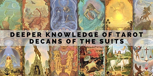 Deeper Knowledge of Tarot: Decans of the Cups Suit