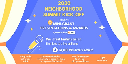 Neighborhood Summit Kick-Off Event