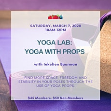 YOGA LAB: Yoga With Props tickets