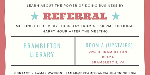 Learn about the power of doing business by referral