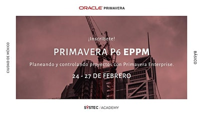 Primavera P6 Enterprise Project Portfolio Mgmt. boletos
