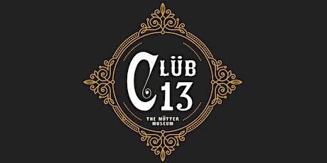 Clüb 13 Raffle tickets
