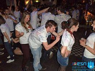 White Tshirt dance Salsa and Hustle Party social tickets