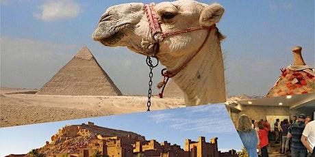 Photo-conférence au cœur de l'Égypte et du Maroc billets